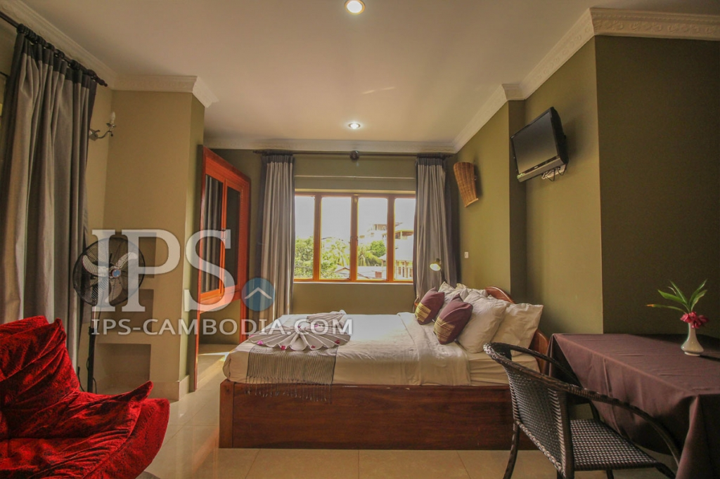 1 bedroom apartment for rent in siem reap wat bo area for Studio apartment area