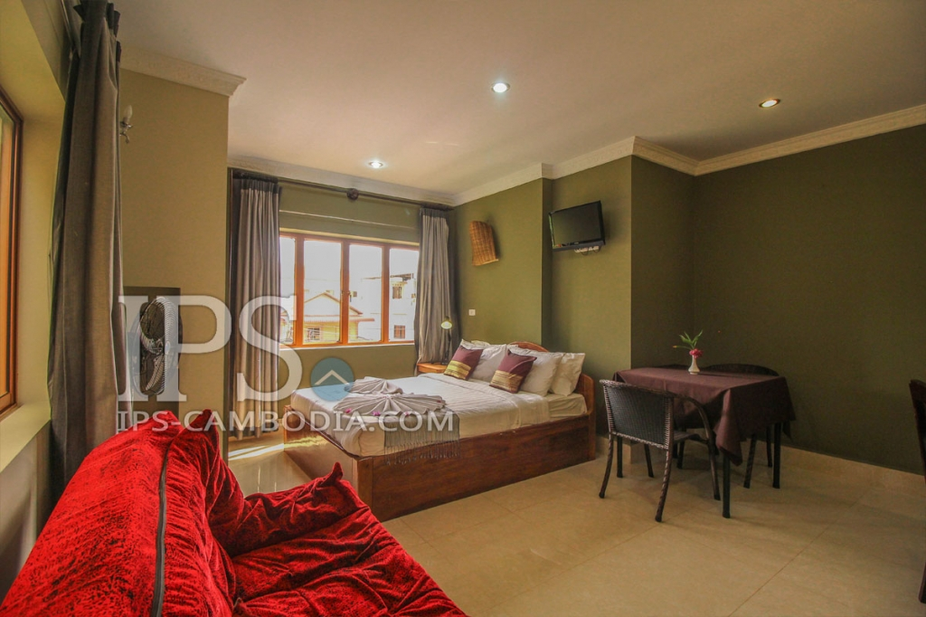 1 bedroom apartment for rent in siem reap wat bo area for Studio apartments for rent