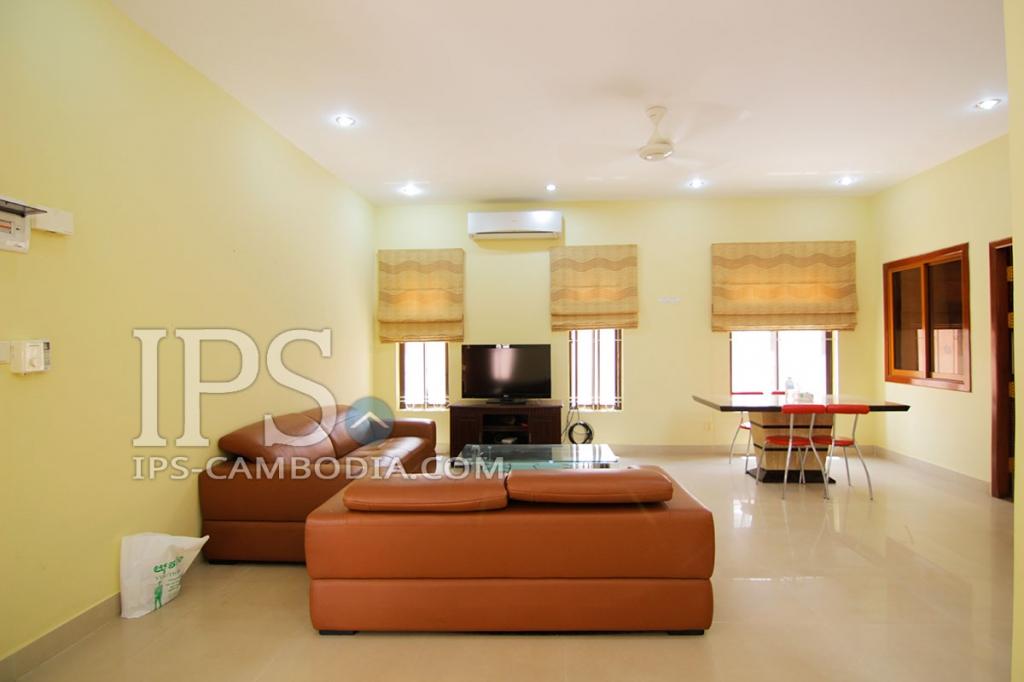 villa for rent in phnom penh three bedrooms in toul kork