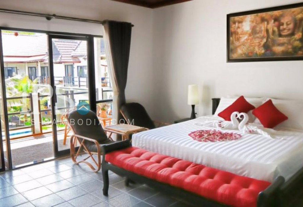 30 Bedroom Hotel Guesthouse For Rent In Siem Reap Sala