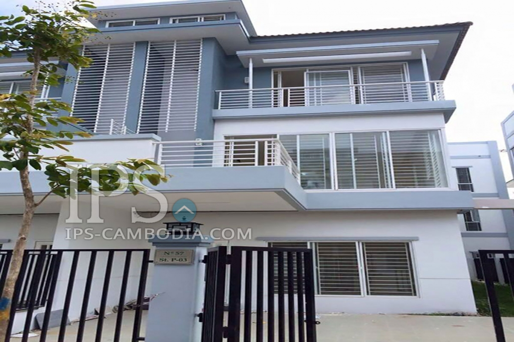 5 Bedroom Townhouse For Sale Phnom Penh Thmei 3754 Ips Cambodia