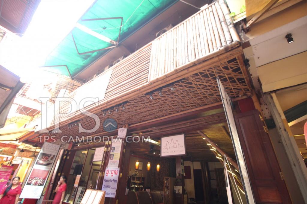 Pub Street Shophouse for Rent in Siem Reap