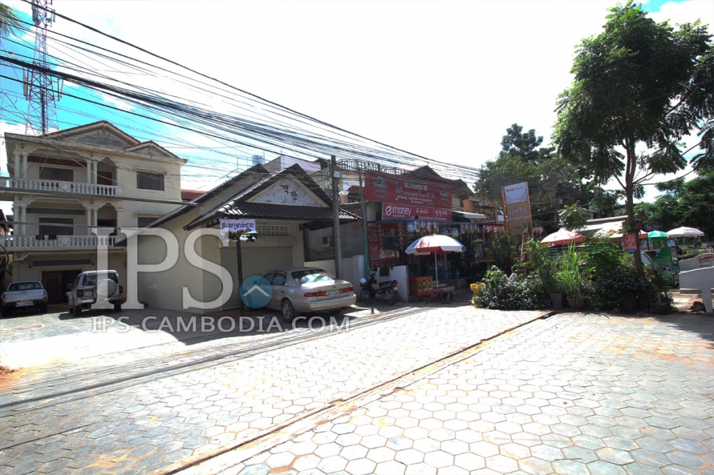 Siem Reap Commercial Building For Rent