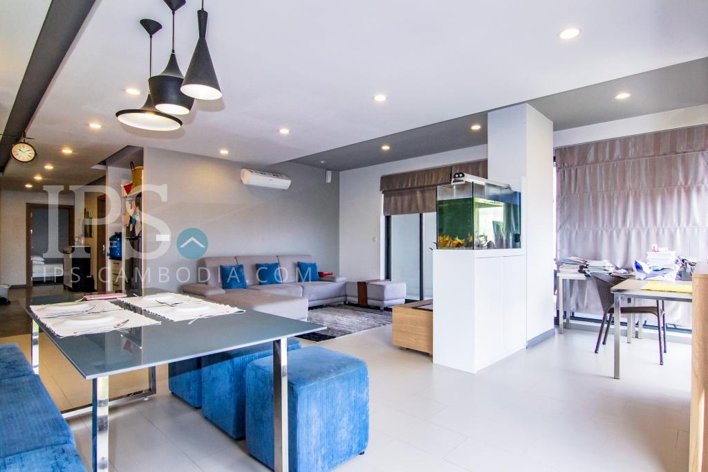 4 Bedroom  Apartment For Sale - Chroy Changvar, Phnom Penh