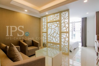Studio Apartment for Rent in Tonle Bassac