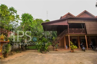 6 Bedroom Khmer-Inspired House for Rent - Siem Reap