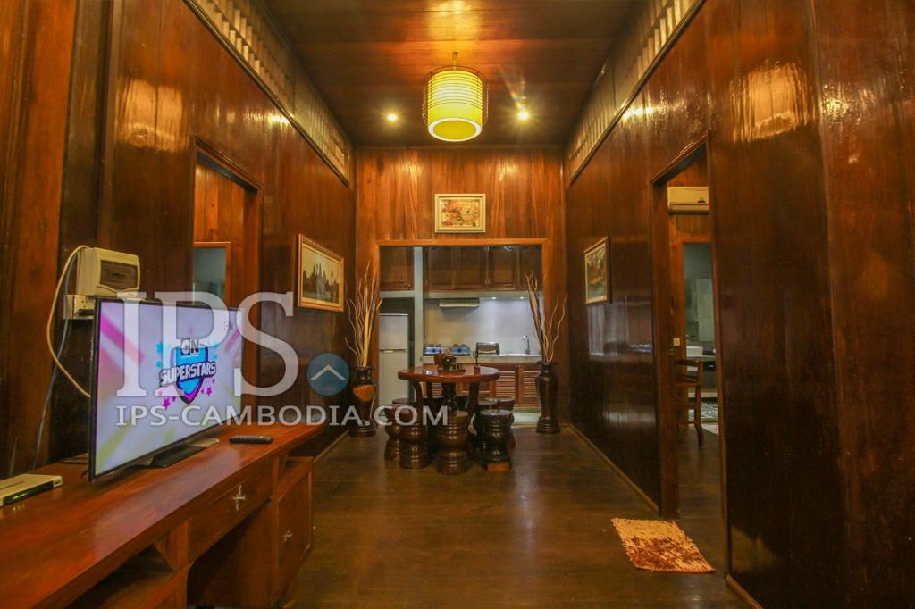 Khmer Design Apartment For Rent - 2 Bedrooms