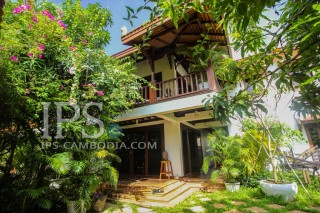 For Rent: 4 Bedroom Residential Villa in Siem Reap