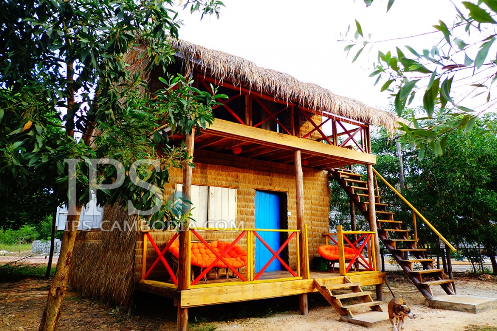 Well Established Backpackers Guesthouse For Sale in Otres Village