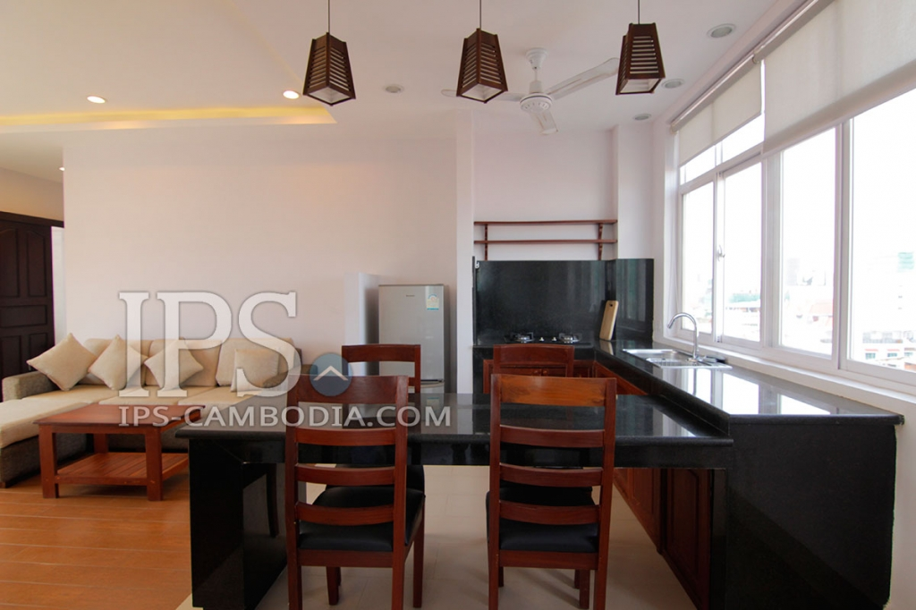 Phnom Penh Rentals - Two Bedrooms in Toul Tum Poung