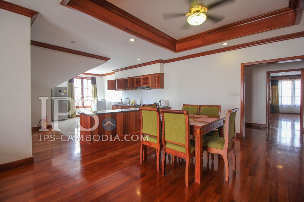 Wat Bo - 4 Bedroom Luxury Apartment for Rent