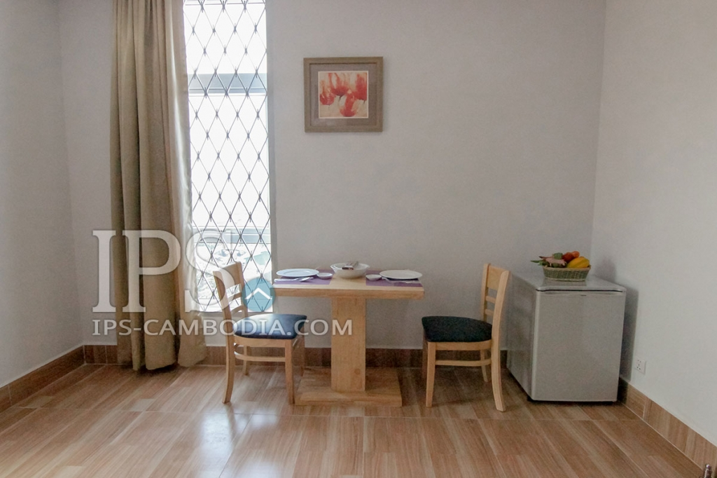 Serviced Apartment for Rent in Toul Tum Poung - One Bedroom