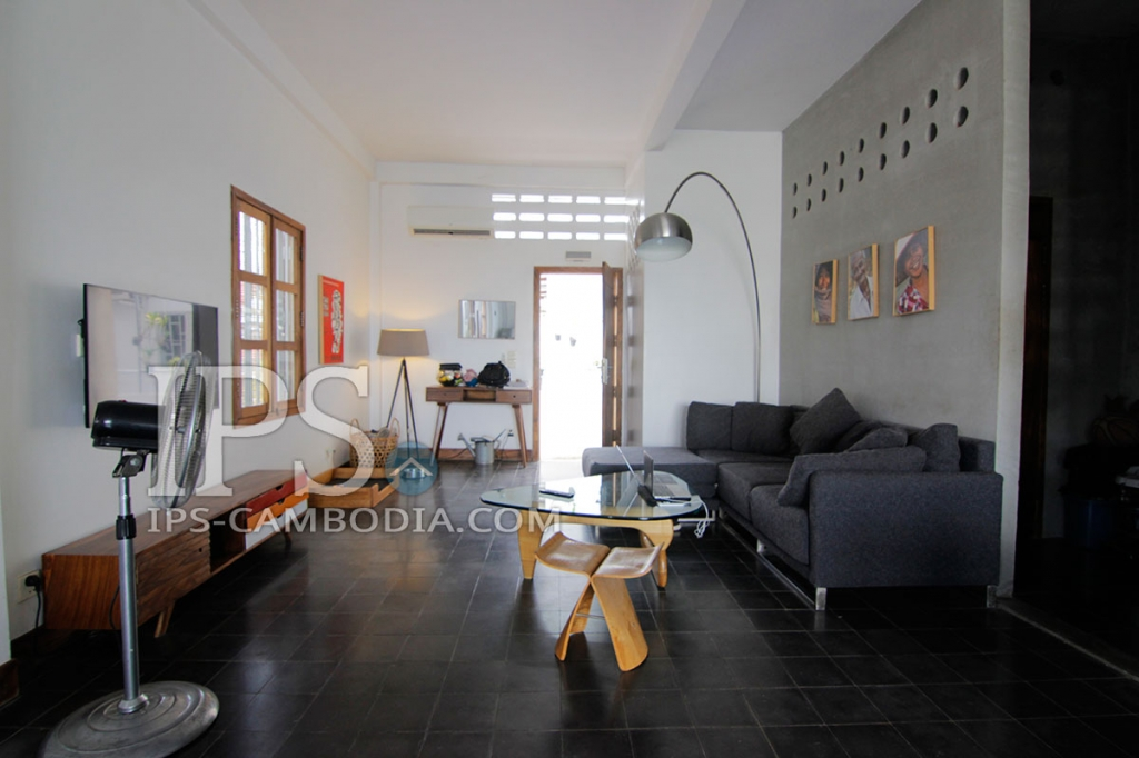 Duplex Corner Apartment For Sale in Phnom Penh - Two Bedrooms