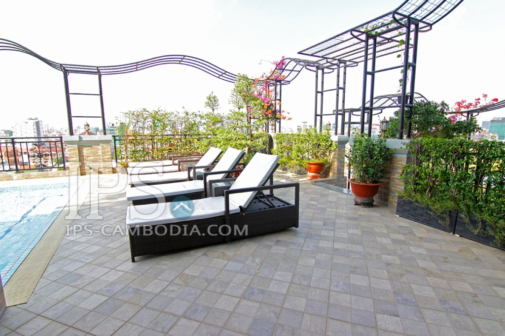 Two Bedroom Apartment in Phsar Doeum Thkov for Rent