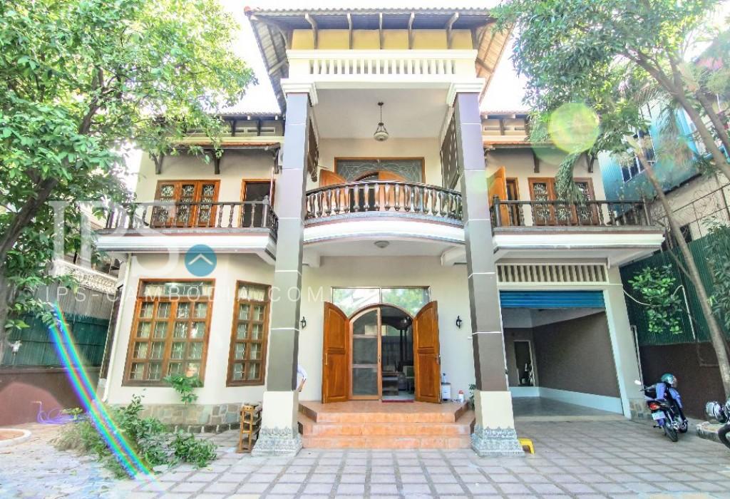 5 Bedroom Commercial Villa For Rent in BKK1, Phnom Penh