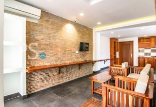 Serviced Apartment for Rent in Tonle Bassac - Studio