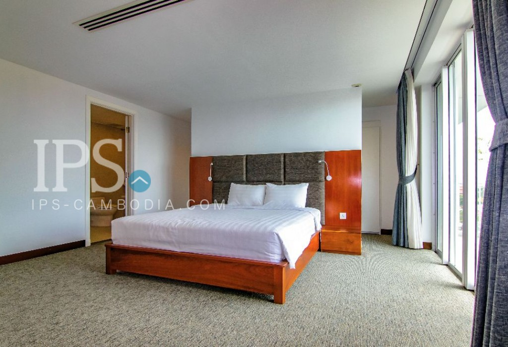 4 Bedroom Serviced Apartment For Rent in Chroy Changvar, Phnom Penh