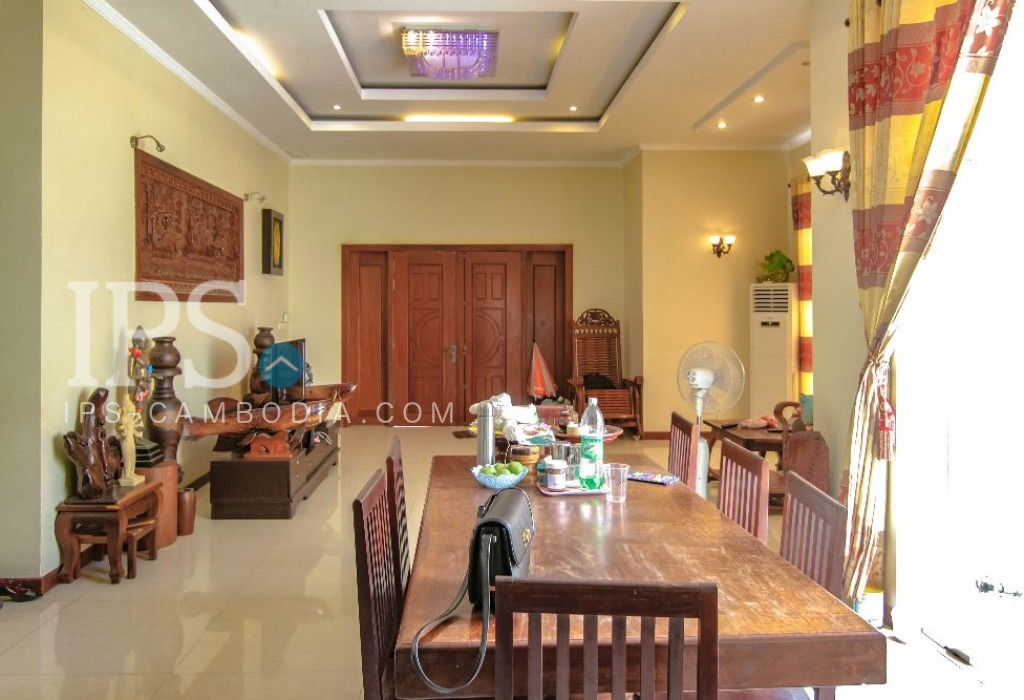 Large Villa for Rent in Toul Tompong - Five Bedrooms