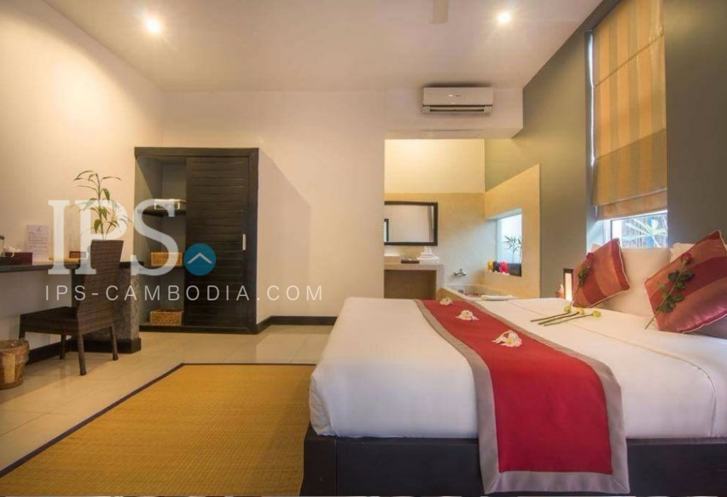 9 Bedroom Hotel Business for Sale - Siem Reap