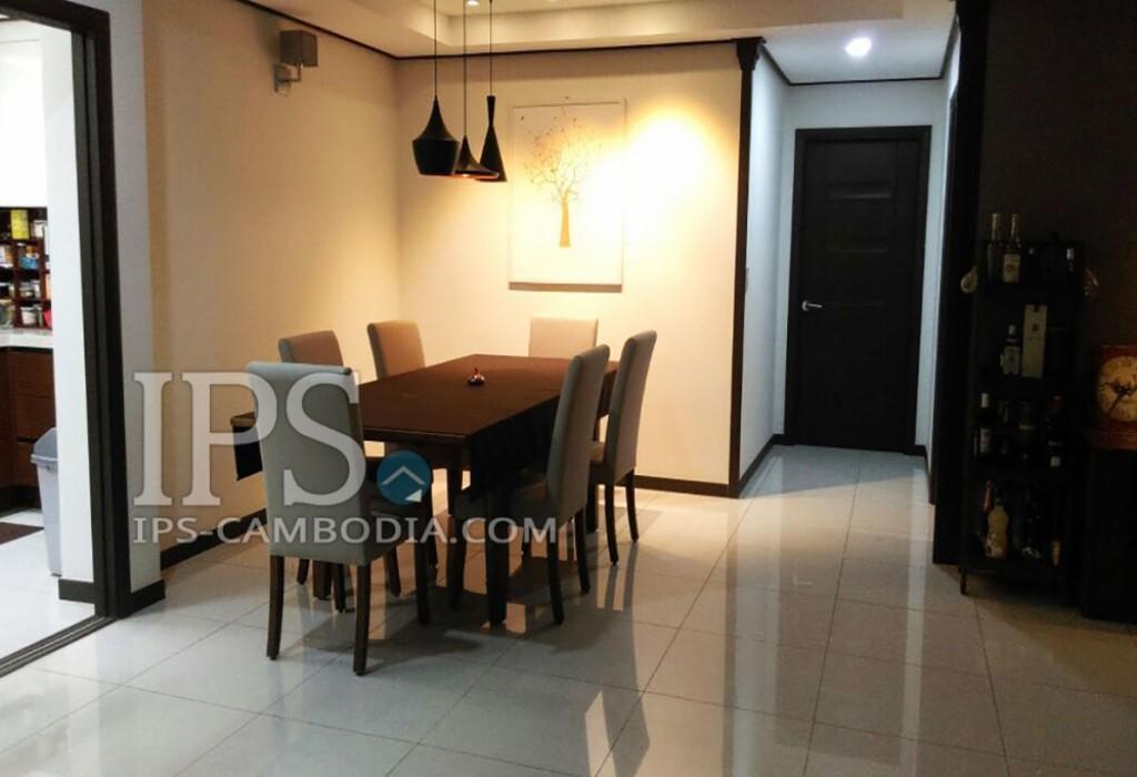 Condo For Rent in Phnom Penh - Three Bedrooms