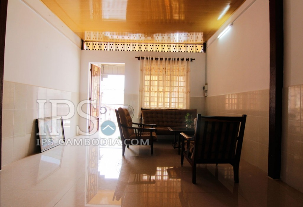 One Bedroom Apartment in Phnom Penh For Rent - Close to Riverside