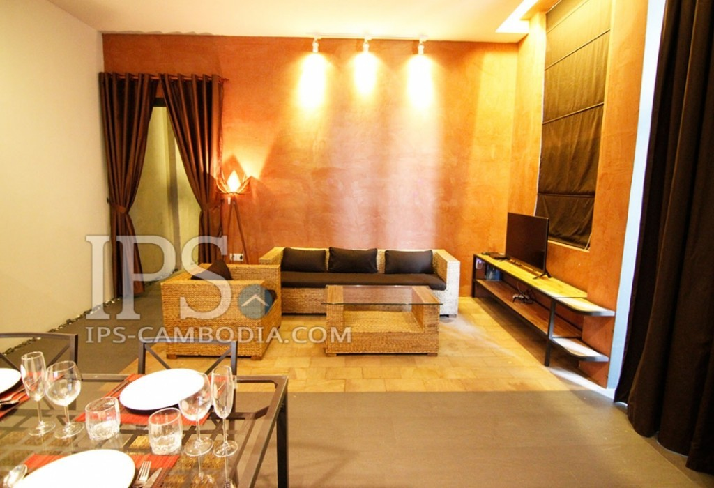 Serviced Apartment For Rent  Phnom Penh 2 Bedroom Tonle