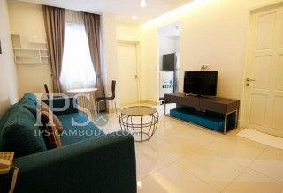 Modern One Bedroom Serviced Apartment for Rent in Phnom Penh - Boeung Trabek