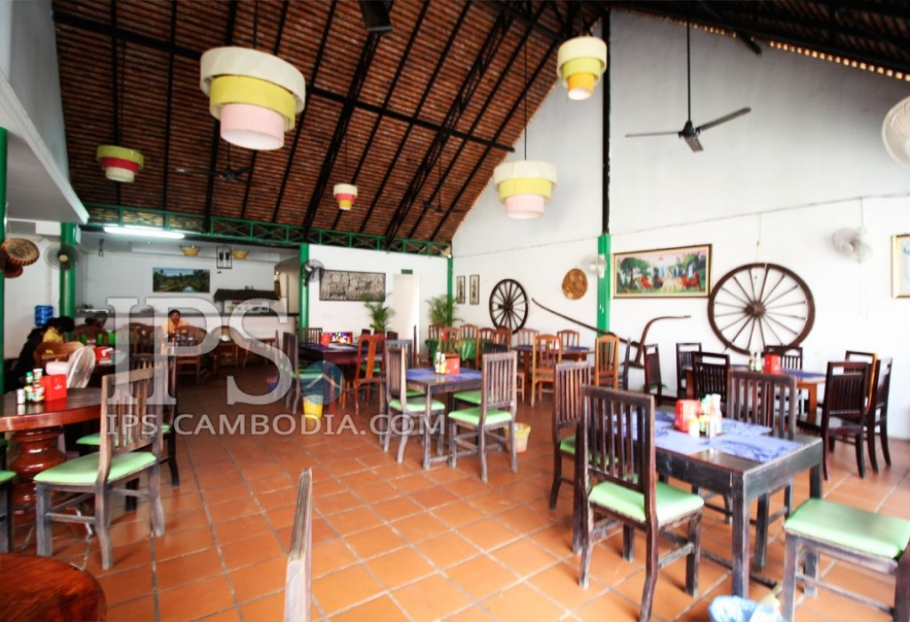 Profitable Restaurant Business for Sale in Siem Reap