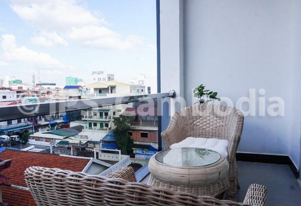 Phnom Penh Apartment For Rent - One Bedroom in BKK3