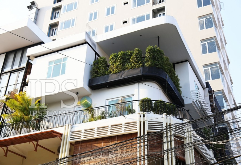 Luxurious Two Bedroom Penthouse Apartment for Sale in BKK1 - Phnom Penh
