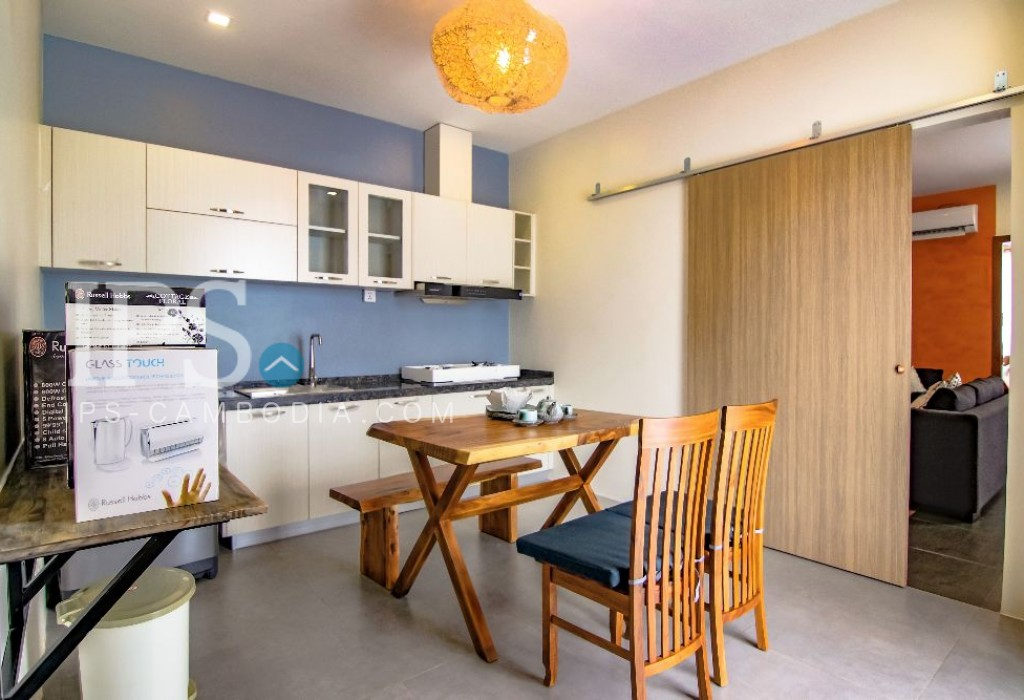 One Bedroom Apartment near Wat Phnom For Rent