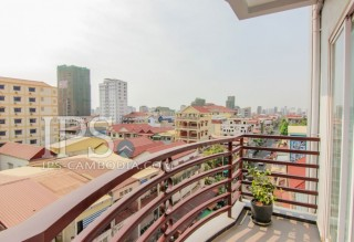 Serviced Apartment For Rent in Phnom Penh - Two Bedrooms in BKK2