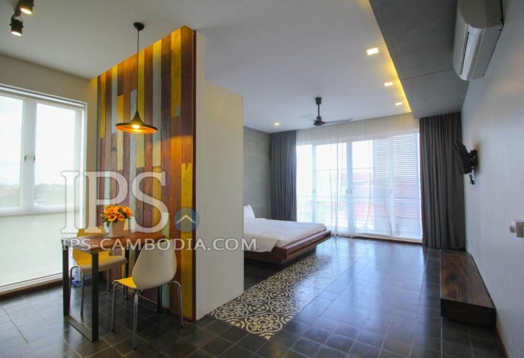 Western Studio Flat For Rent - Svay Dangkum, Siem Reap
