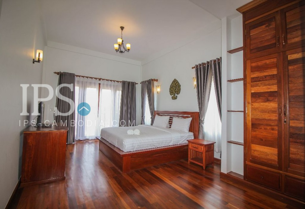 New 13 Rooms Boutique for Rent in Siem Reap- Wat Bo Village
