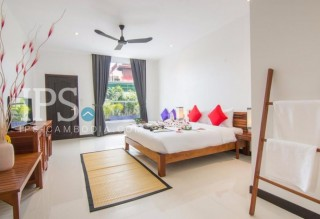Charming 8 Room Boutique Hotel for Rent in Siem Reap- Wat Bo Village