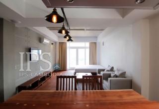 Pleasant Studio Apartment For Rent in Phnom Penh - BKK1