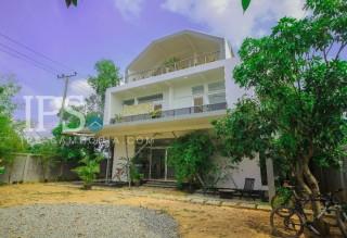 White Villa for Sale in Siem Reap