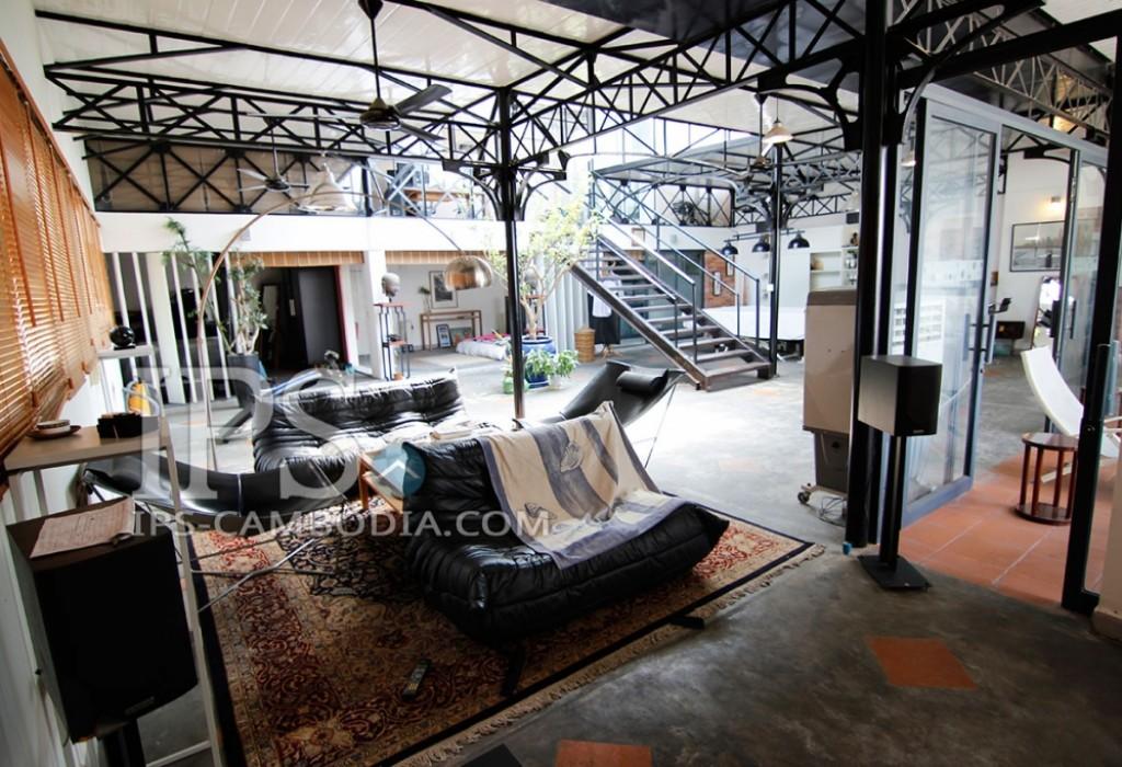 Industrial Open-Plan Apartment For Sale in Wat Phnom, Phnom Penh
