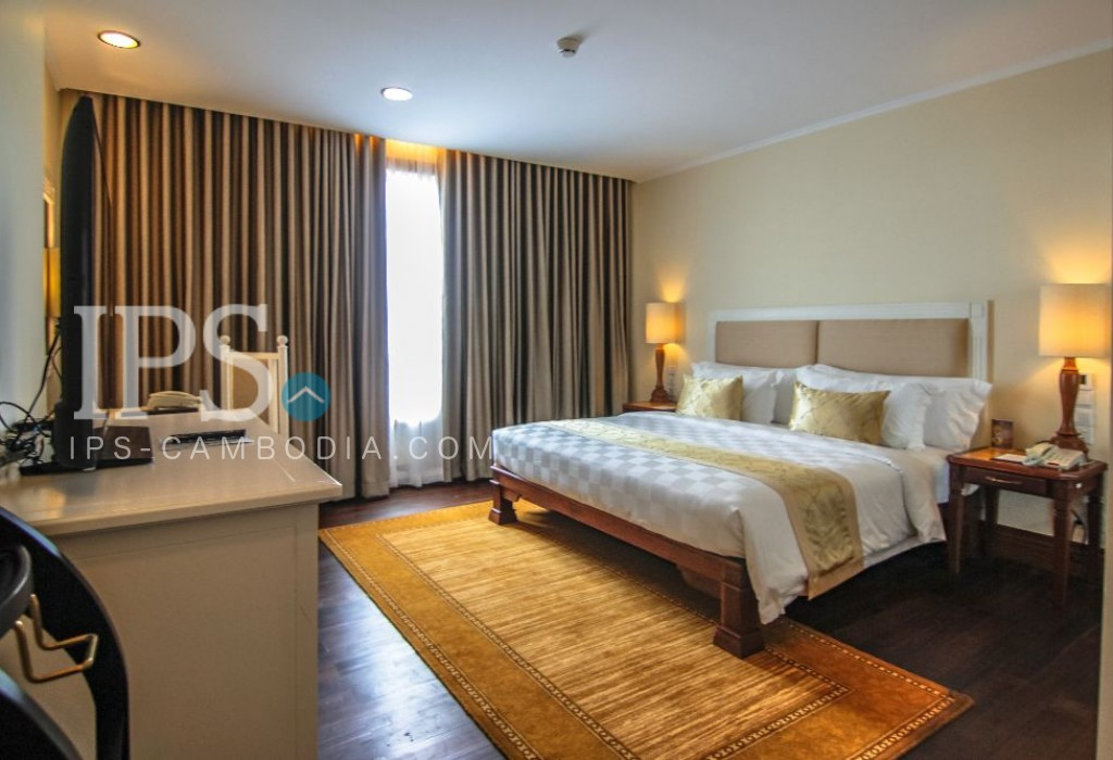2 Bedroom Serviced Apartment For Rent - Chroy Changvar