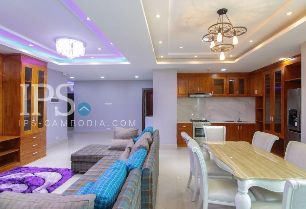 5 Bedroom Apartment For Rent - BKK3, Phnom Penh