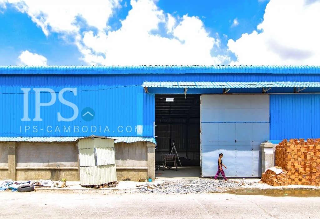 Warehouse For Rent In Sen Sok 600sqm Available March 2017