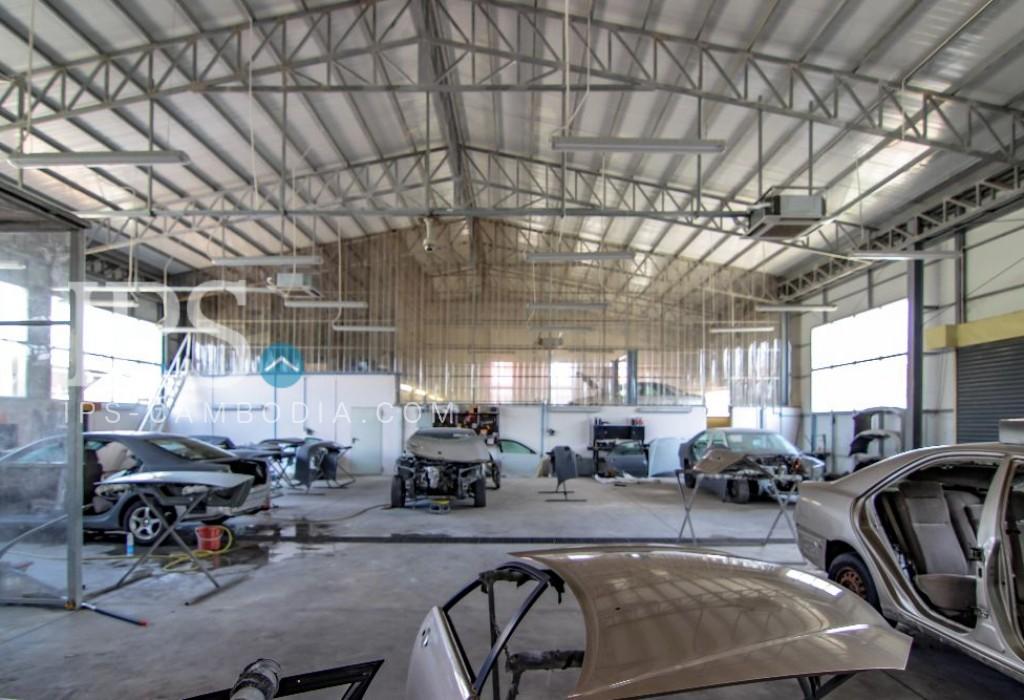2000 sqm. Warehouse for Rent - Sen Sok