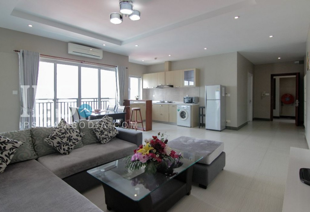 2 Bedroom Apartment  For Rent - Toul Tom Pong, Phnom Penh