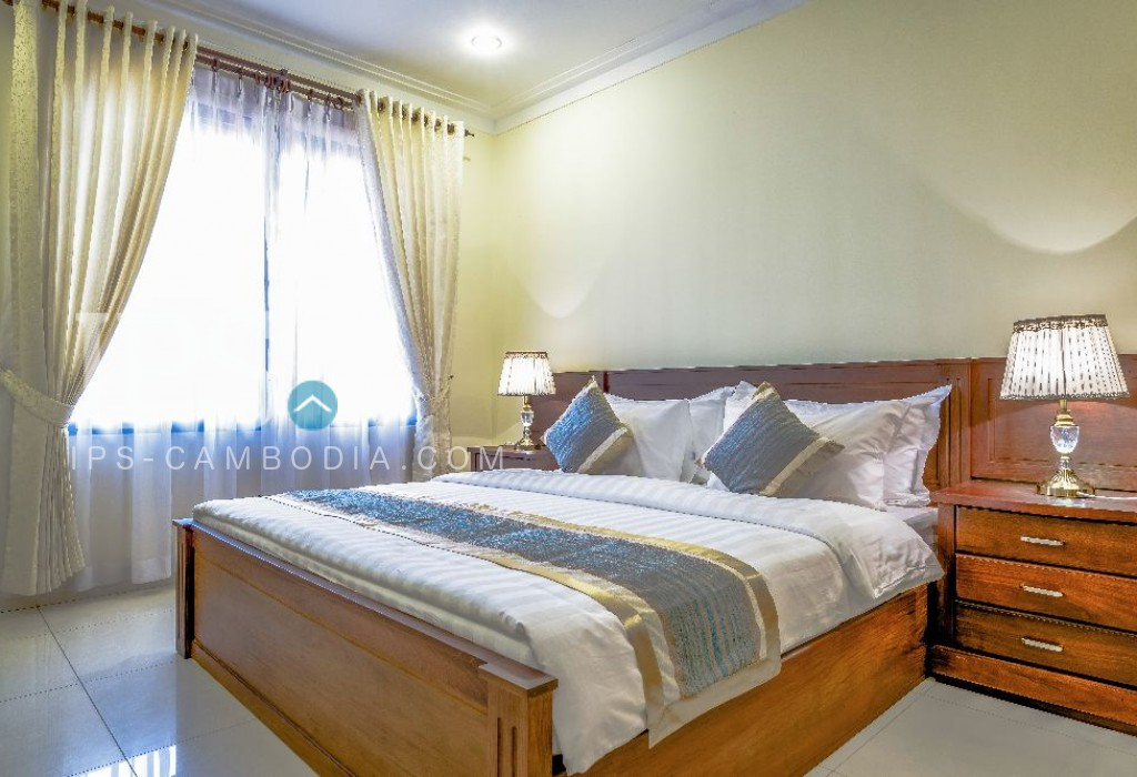 2 Bedroom Apartment for Rent - Serviced Apartment BKK1