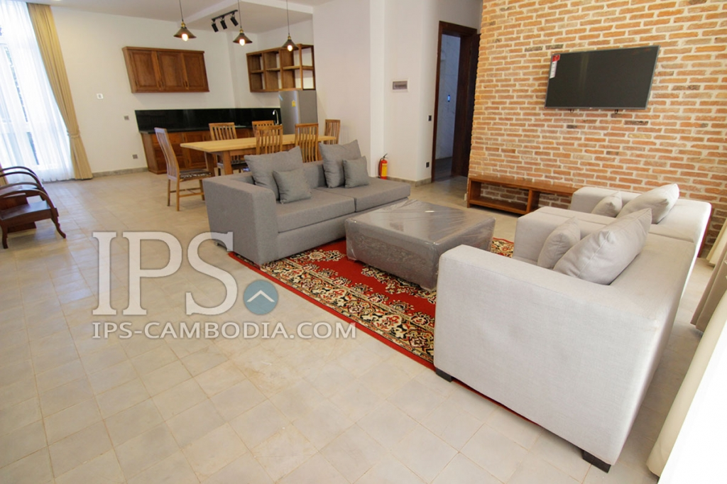 For Rent - 2 Bedroom Serviced Apartment BKK1