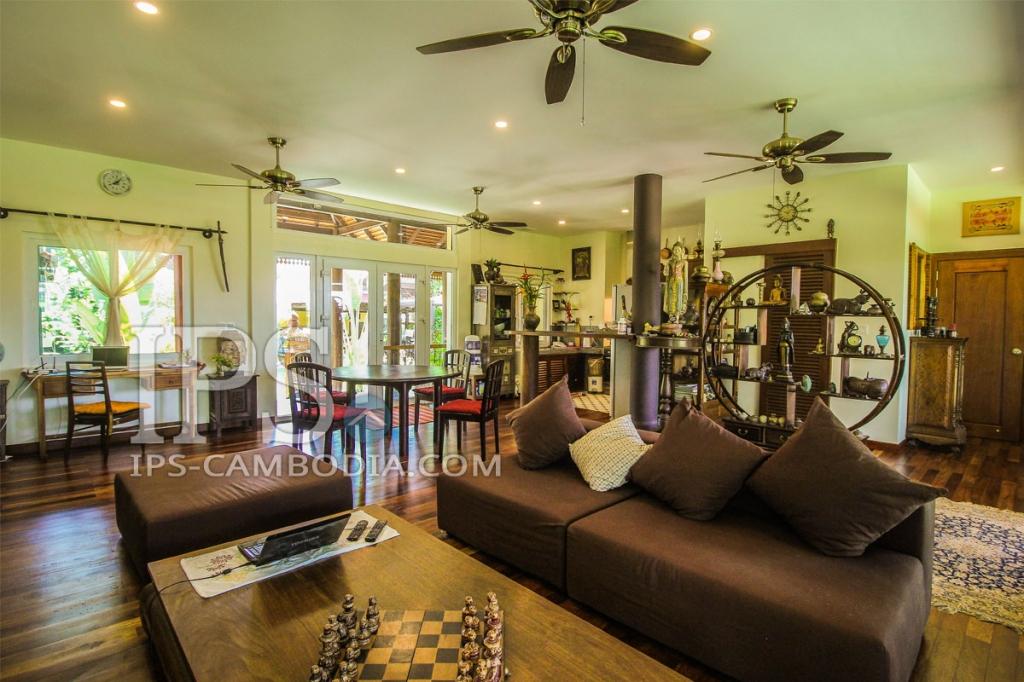 Villa for sale in Siem Reap - Hard Title