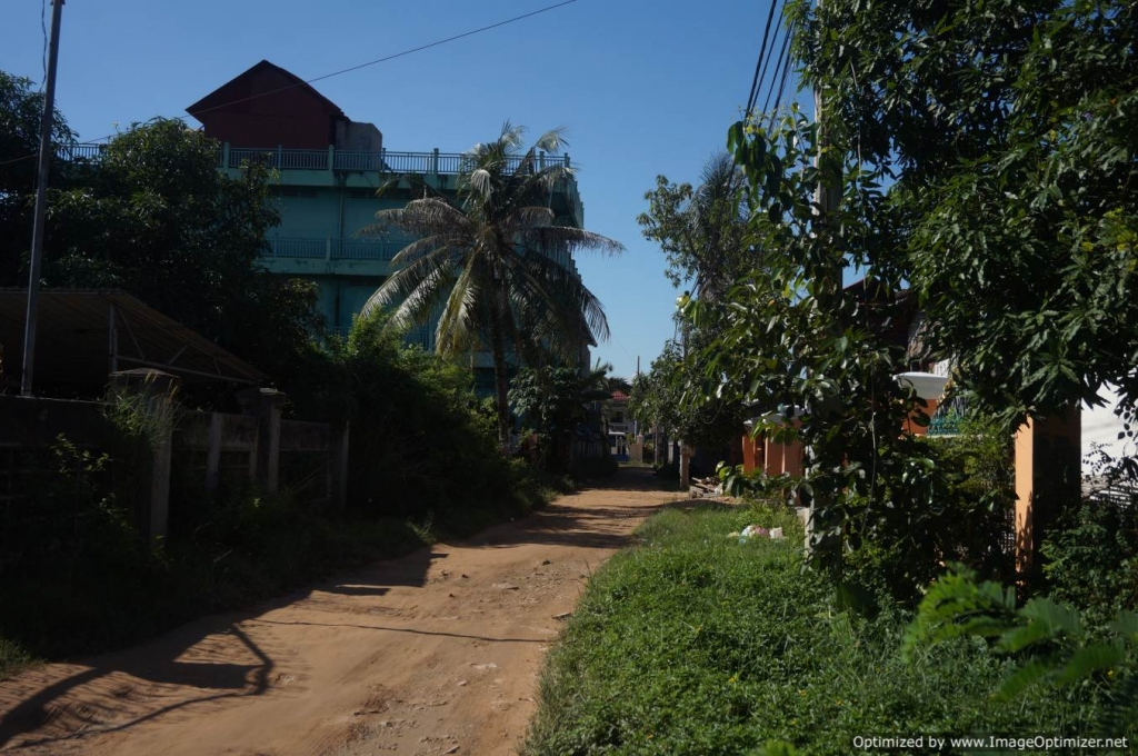 Land for Sale in Siem Reap - Svay Dong Kom Area