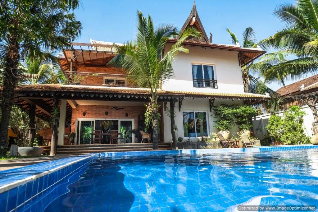 Luxury Villa for rent in Siem Reap - Wat Bo