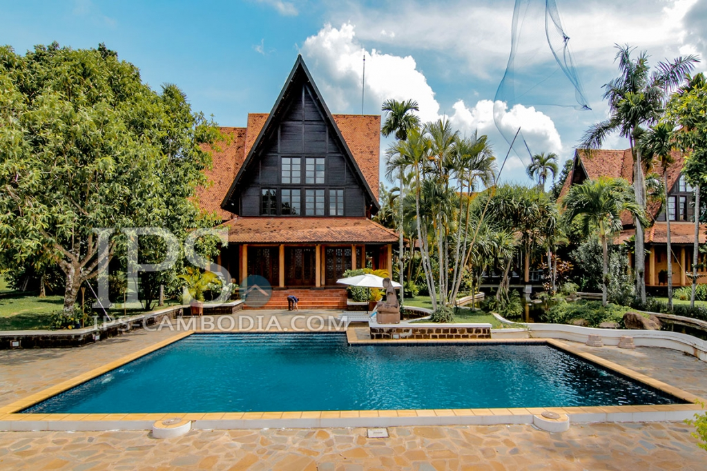 6 Separate Villas and 10 Bedrooms For Rent - Preaek Aeng, Phnom Penh
