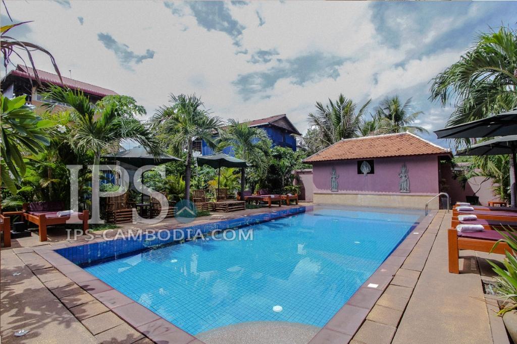 26 Bedroom Boutique Villa for Sale - Siem Reap